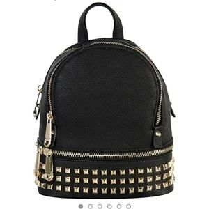 NEW studded mini backpack purse!